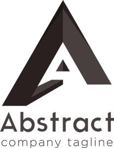 A Abstract Logo Vector
