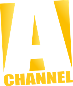 A Channel Logo Vector