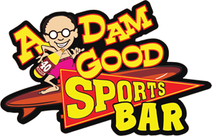 A DAM GOOD SPORTS BAR Logo Vector
