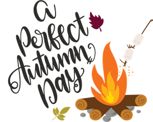 A PERFECT AUTUMN DAY Logo Vector