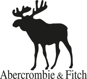 Abercrombie and Fitch Black Logo Vector