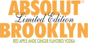 Absolut Brooklyn Logo Vector