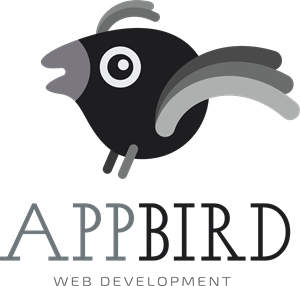 Abstract AppBird Logo Vector