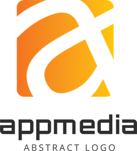 Abstract Appmedia Logo Vector