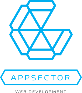 Abstract Appsector Logo Vector