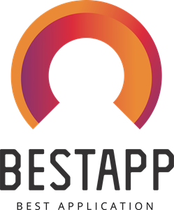Abstract BestApp Logo Vector