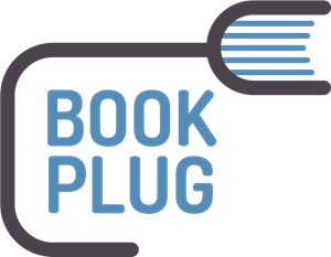 Abstract Book Plug Logo Vector