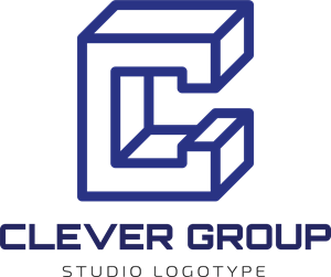 Abstract Clever Group Logo Vector