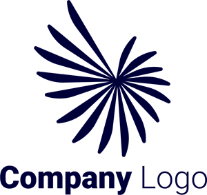 Abstract Company Shape Logo Vector