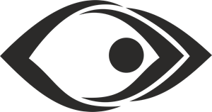 Abstract Eye Logo Vector