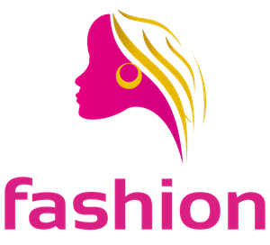 Abstract Fashionable Woman in Bright Colours Logo Vector