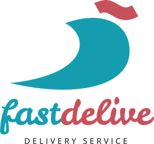 Abstract fastdelive Logo Vector