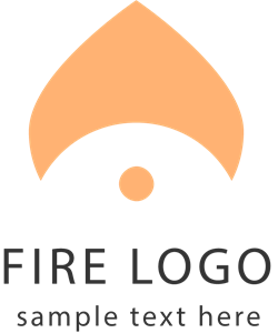 Abstract fire Logo Vector