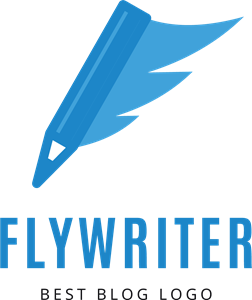 Abstract Flywriter Logo Vector