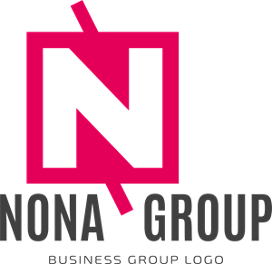 Abstract nona group Logo Vector
