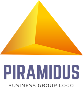 Abstract Piramidus Logo Vector