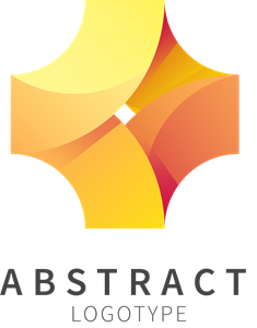 Abstract Shape Logo Vector