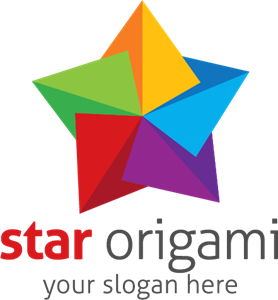 Abstract star Logo Vector