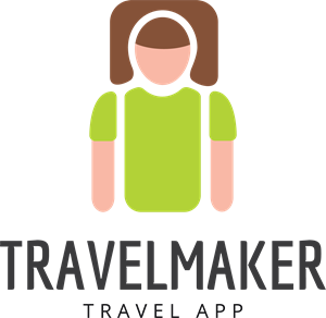 Abstract Travel Maker Logo Vector