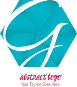 Abstract with the letter g Logo Vector