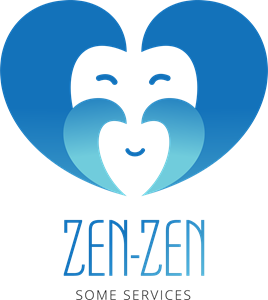 Abstract zenzen Logo Vector