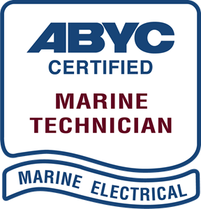 ABYC Certified Marine Technician Marine Electrical Logo Vector