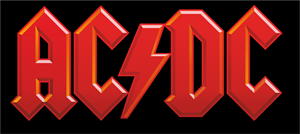 AC/DC BAND FOR THE ALBERT RECORDS LABEL Logo Vector