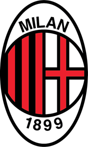 AC Milan late 80's early 90's Logo Vector