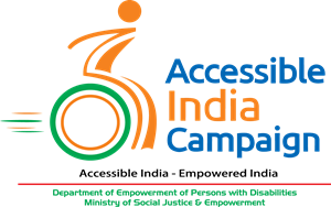 Accessible India Campaign Logo Vector