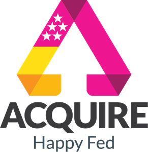 ACQUIRE Happy Fed Logo Vector