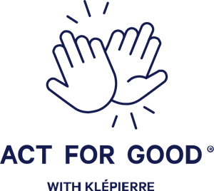 Act For Good with Klépierre Logo Vector