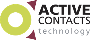 Active Contacts Technology Logo Vector