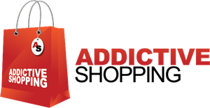ADDICTIVE SHOPPING Logo Vector