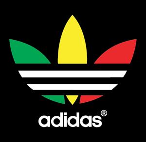 adidas logo vector image