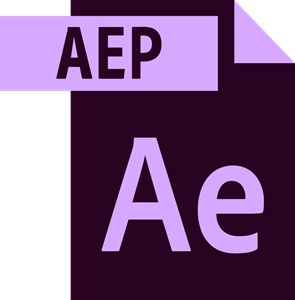 Adobe After Effects File Logo Vector
