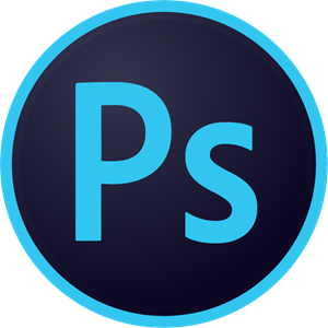 Adobe Photoshop CC Circle Logo Vector