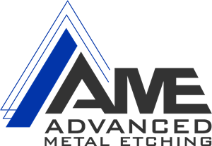 Advanced Metal Etching Logo Vector