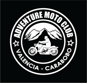 Adventure Moto Club Logo Vector