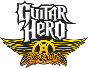 Aerosmith Guitar Hero Logo Vector