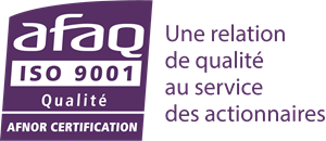 Afaq ISO 9001 Qualite Afnor Certification Logo Vector