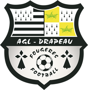AGL-Drapeau Fougeres Football Logo Vector