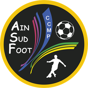 Ain Sud Foot Logo Vector