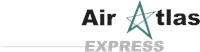 Air Atlas Express Logo Vector