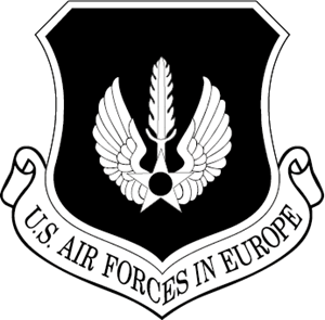 AIR FORCES EUROPE EMBLEM Logo Vector
