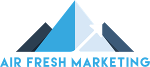 Air Fresh Marketing Logo Vector