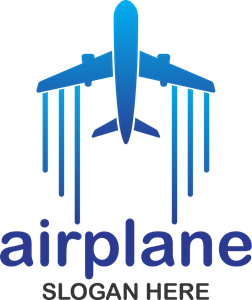 Air plane Logo Vector