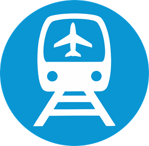 Airport Railroad Express Logo Vector