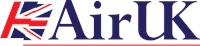 AirUK airlines Logo Vector