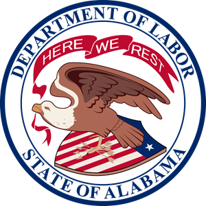 Alabama Department of Labor Logo Vector