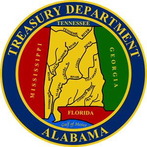 Alabama Treasury Department Logo Vector